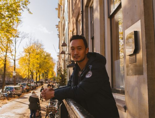videoproducer Winston Sawat